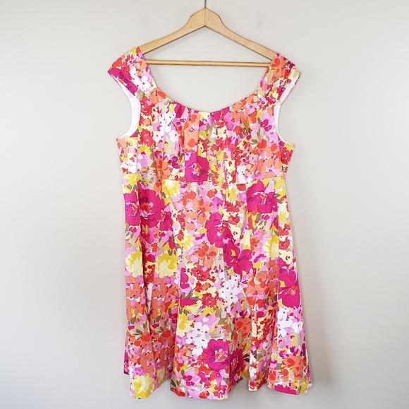 Dress Barn Dresses & Skirts - Dress Barn Woman | Vibrant Floral Dress